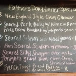 Fathers Day Dinner Specials!