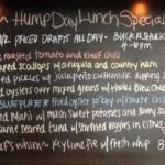 Wednesday Specials Featuring Oyster Po'Boy Blue Plate, 1/2 Priced Drafts and Oyster Happy Hour from 4-6pm!