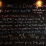 Wednesday Dinner Specials include: 1/2 Priced Drafts and Oyster Happy Hour from 4-6pm!