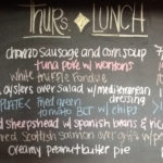 Thurs Lunch Specials include 1/2 Off All Bottles of Wine and Oyster Happy Hour from 4-6pm!