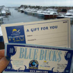 "Holiday Shopping!  Purchase $50 in Gift Certificates and Receive $10 in ""Blue Bucks""!"