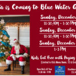 We will be Closing at 3 PM on Sunday, December 8, 2019 for our Blue Crew Holiday Party – Open Again at 11:30 AM Monday!