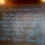 Dinner Specials Saturday December 14th