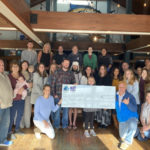 Blue Water Grill and Blue Moon Beach Grill Donate $10,000 to St. Baldrick's Foundation to Help Fight Pediatric Cancer!  Thank YOU for YOUR Generosity.  Go Team OBX Shaveriders!