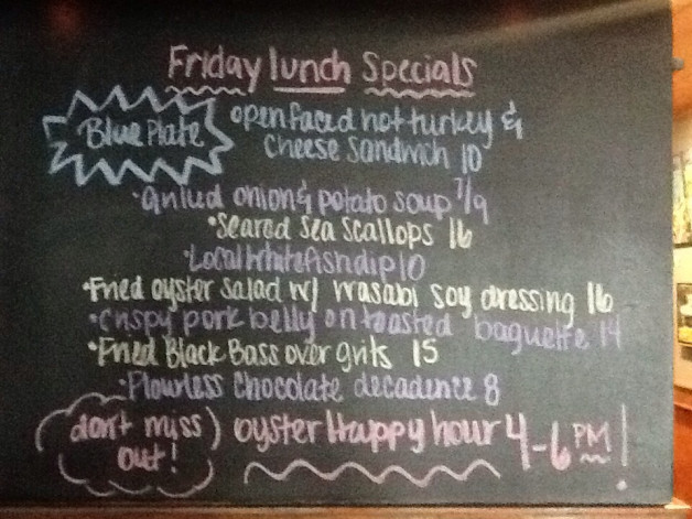 Lunch Specials (12/28/18)