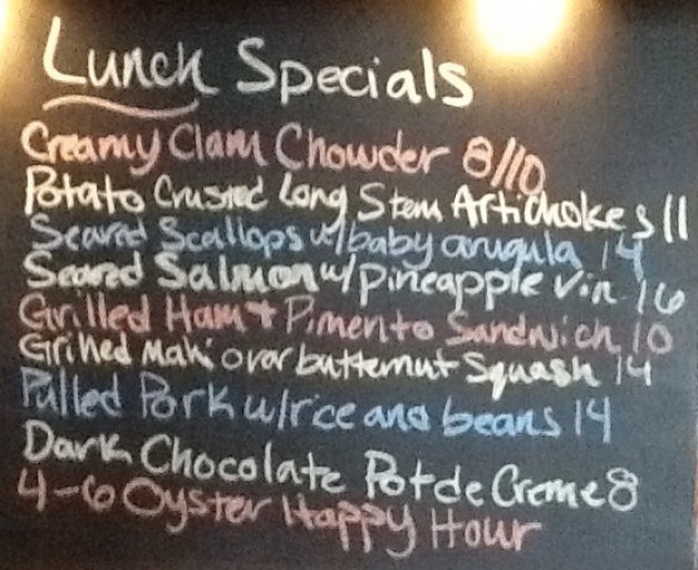 Saturday Lunch Specials