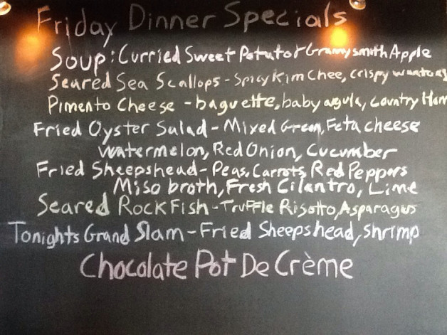 Friday Night Dinner Specials