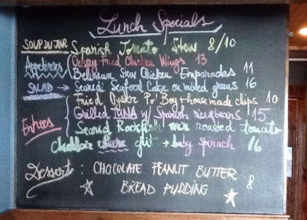 Lunch Specials are waiting for you with new items in our menu! Come and try them and don't forget about our Tuesday&Thursdays offer: 1/2 off for the bottles of wine !!
