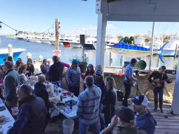 Sunday, November 3rd…Mimi's Tiki Hut End-of-Season OYSTER ROAST!  Get your tickets now!