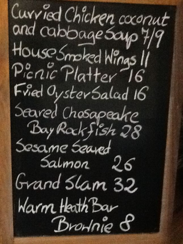 Dinner Specials Monday January 13th