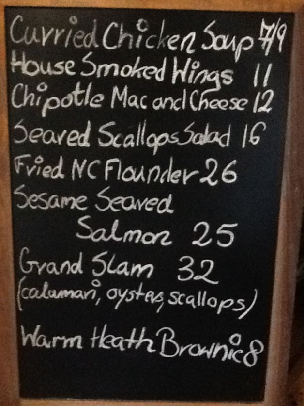 Dinner Specials Tuesday January 14th