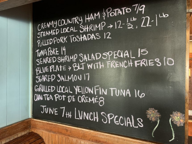 June 7th Lunch Specials