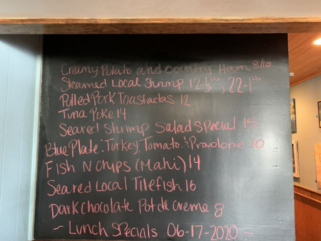 Lunch Specials for June 17th