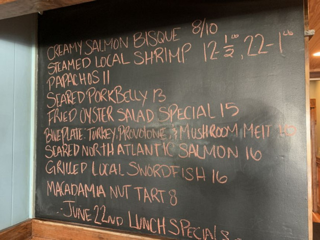 June 22nd Lunch Specials