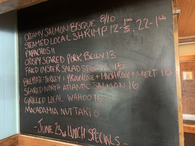 June 23rd Lunch Specials