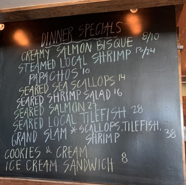 Dinner Specials for 7/14