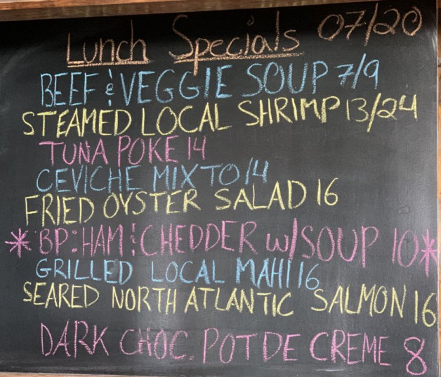 Lunch Specials 07/20