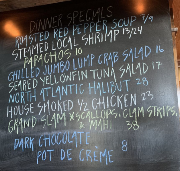 Dinner Specials for 7/24