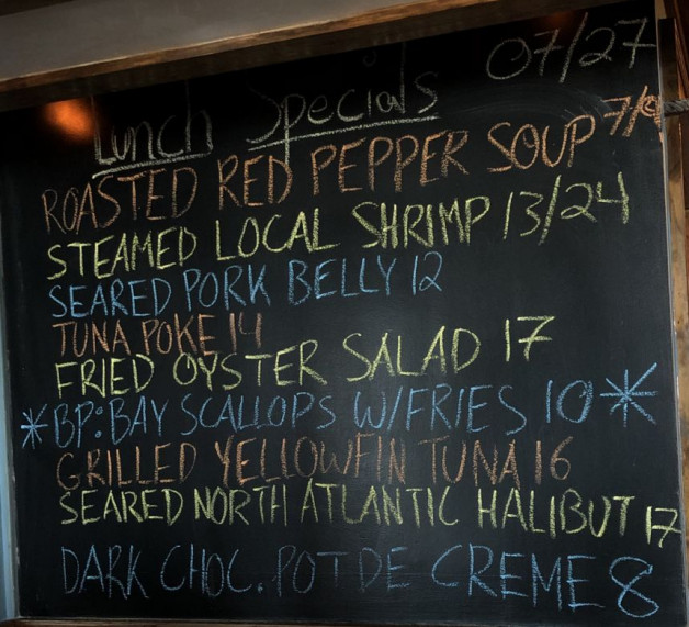 Lunch Specials 07/27