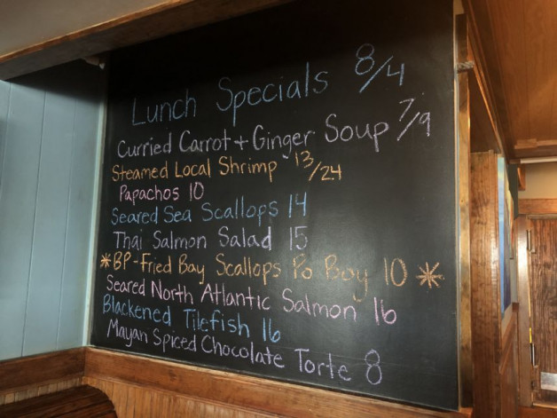 Lunch Specials August 4