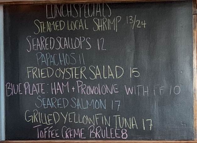 August 8th Lunch Specials