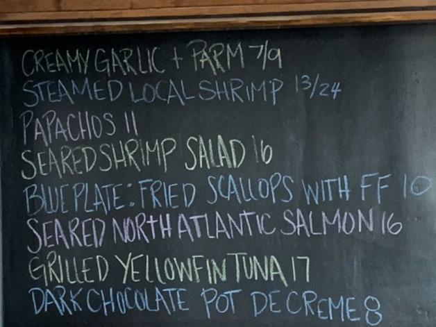 August 11th Lunch Specials