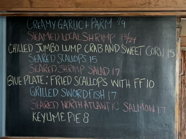 August 13th Lunch Specials
