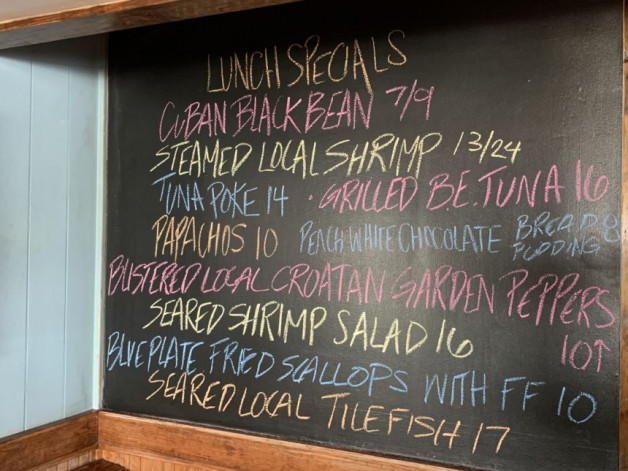 August 15th Lunch Specials