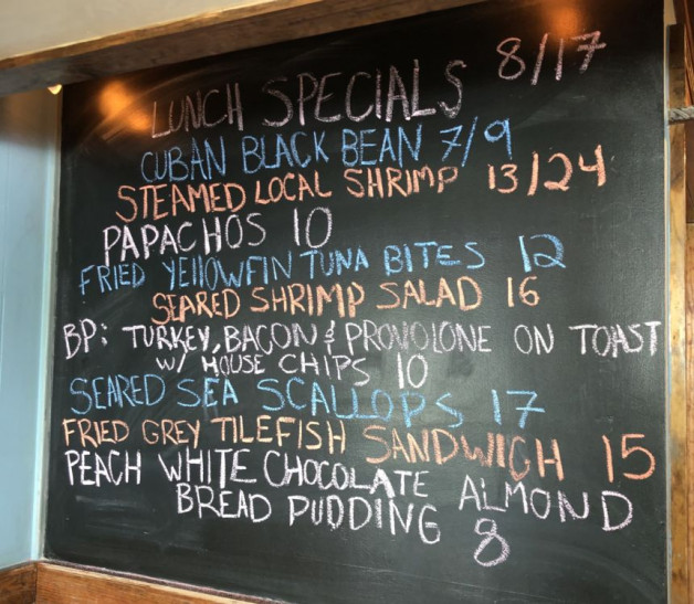 Lunch Specials 08/17/2020