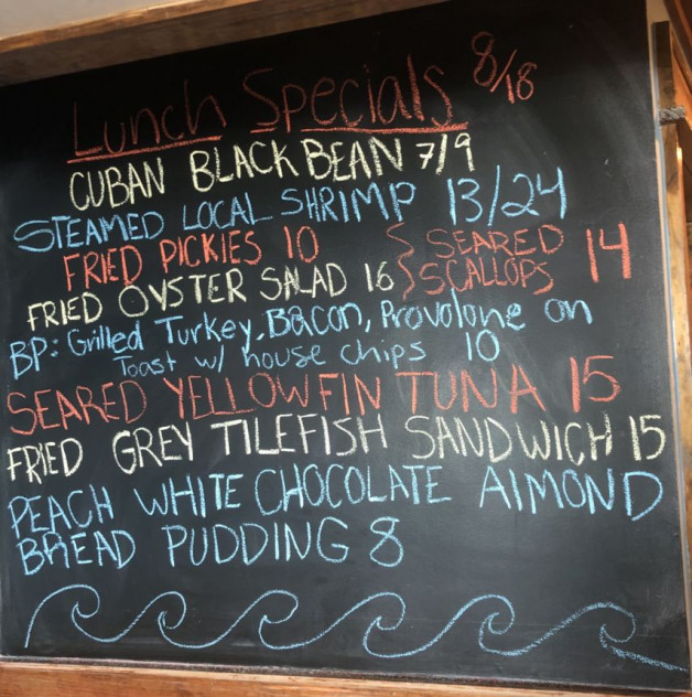 Lunch Specials 8/18/20