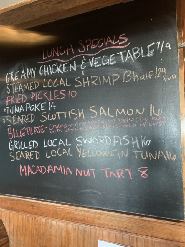 Lunch Specials 8/22