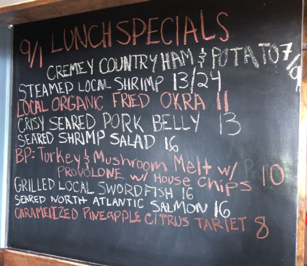 Lunch Specials 9/1/2020