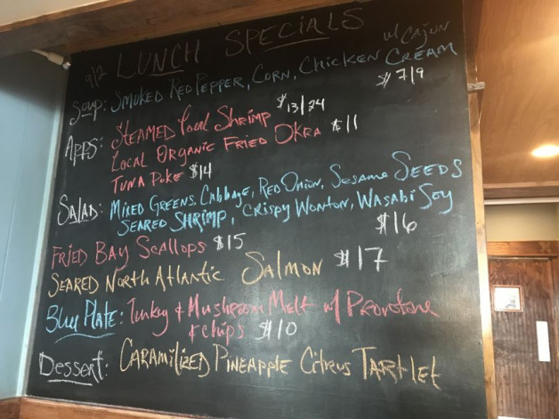 Lunch Specials 9/2/20
