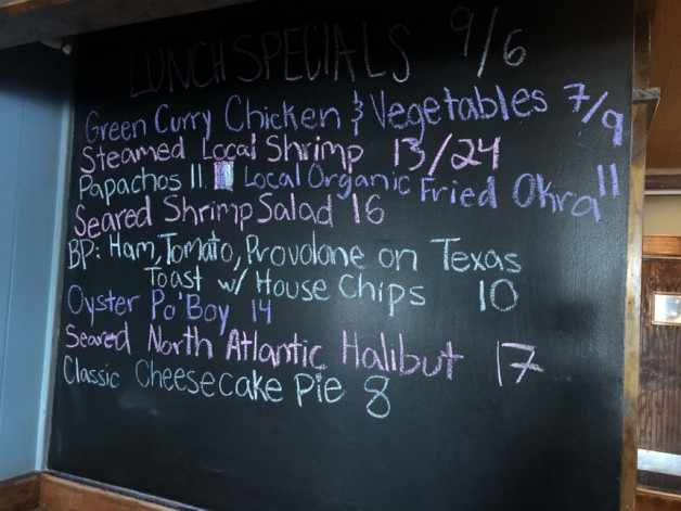 Lunch Specials 09/06/2020