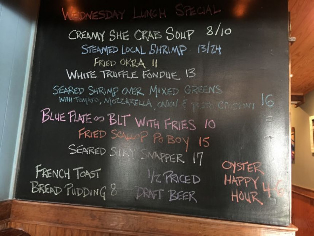 Lunch specials 9/23