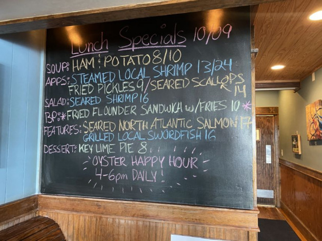 10/9 Lunch Specials