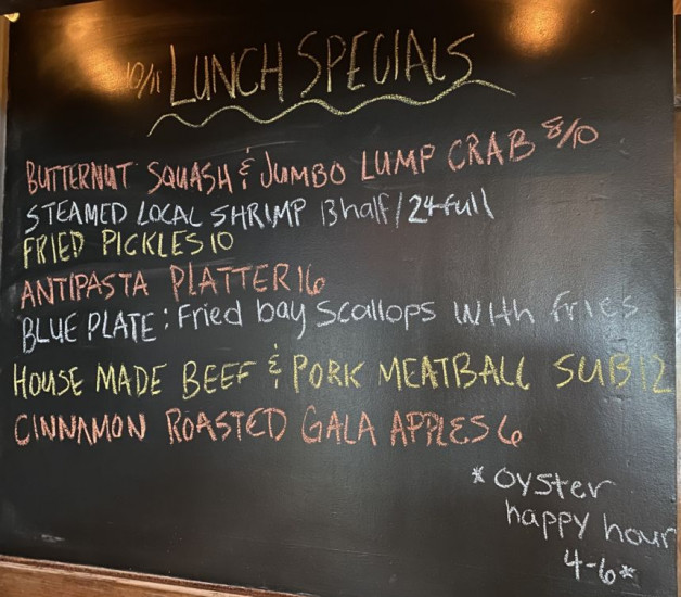 Lunch Specials 10/11