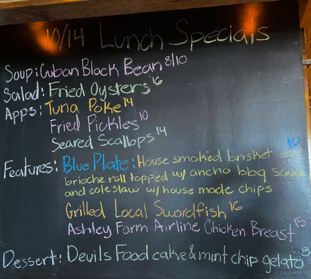 10/14 Lunch Specials
