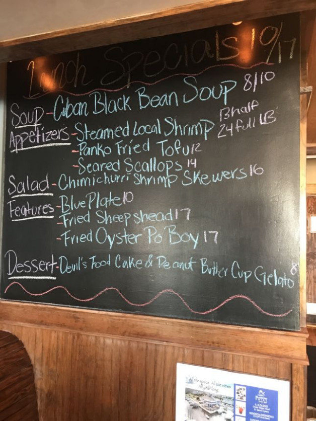 Lunch Specials 10/17