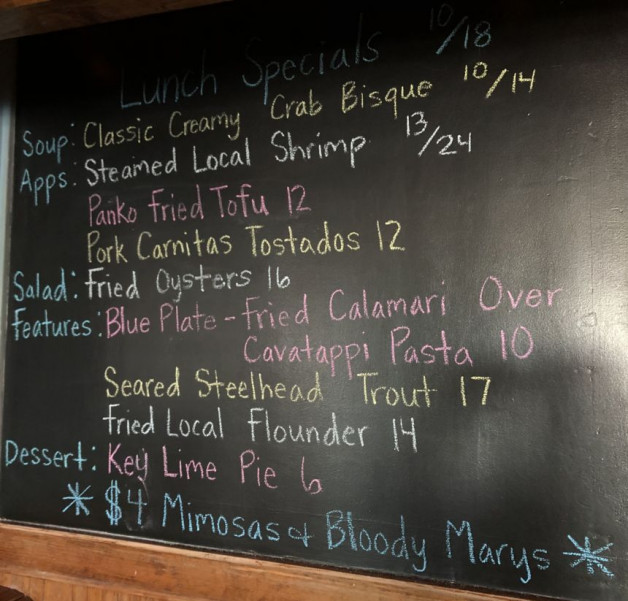 Lunch Specials 10/18