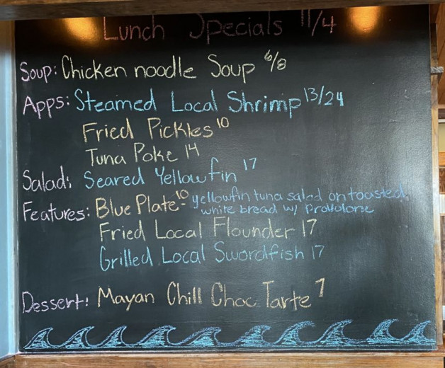 Lunch Specials 11/4
