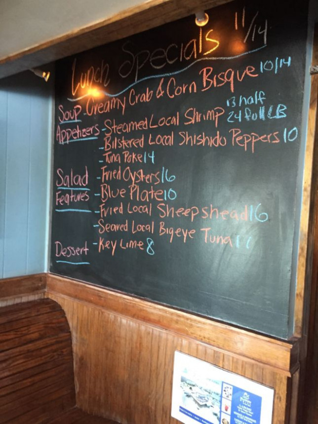 Lunch Specials 11/14