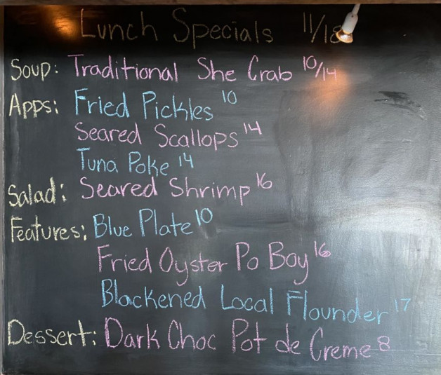 Lunch Specials 11/18