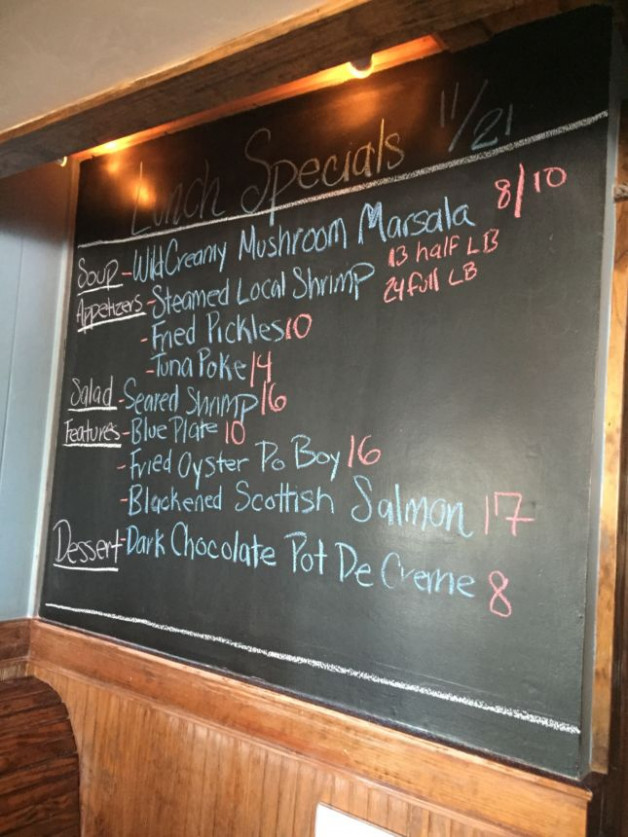 Lunch Specials 11/21