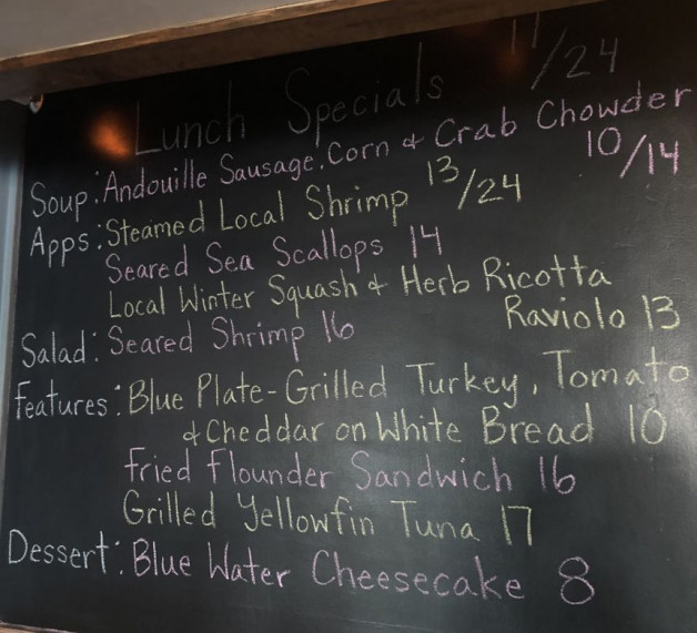 Lunch Specials 11/24