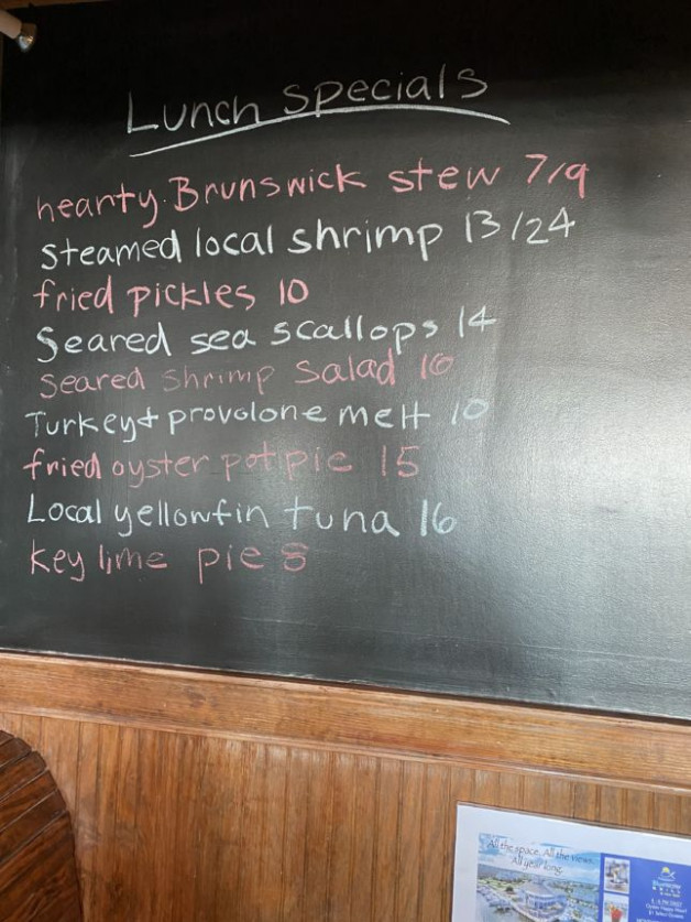 12/2 Lunch Specials
