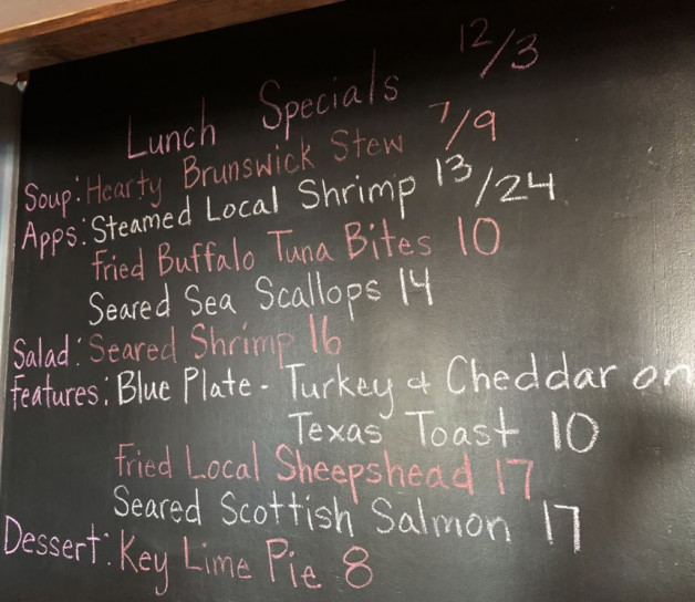 Lunch Specials 12/3