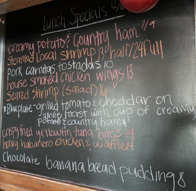 Lunch Specials 12/6