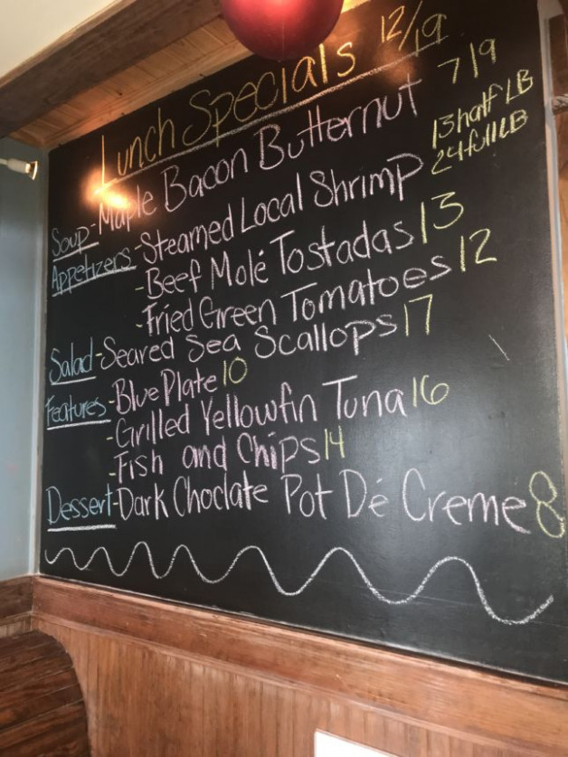 Lunch Specials 12/19