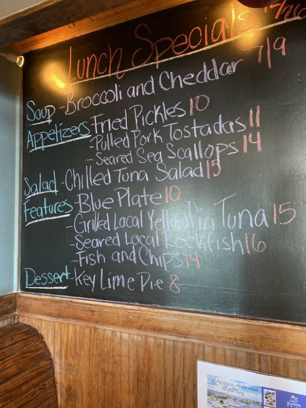 Lunch Specials 12/26